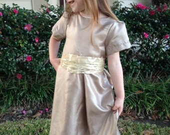 50% OFF Girls Dress with sash pdf sewing pattern, girls sewing pattern, girls pdf sewing pattern, dress pdf sewing pattern, dress pattern
