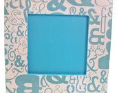 And Ampersand Frame Small Decoupage