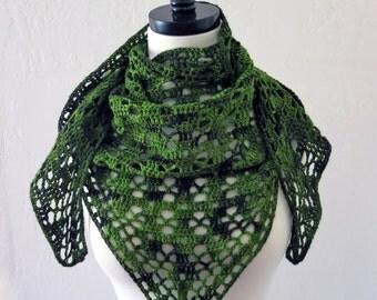 Crochet Pattern ~ Spring Shawl ~ Crochet Pattern