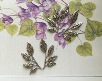 Silver Split Frond Leaf (1 pc)