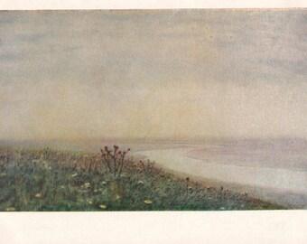 "A. Kuindzhi ""The Dnieper in the Morning"" Postcard -- 1960, Izogiz Publ."