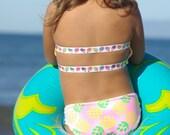 ALANA: Baby Bikini SET Create Your Own One Little Mermaid Child's Swimsuit
