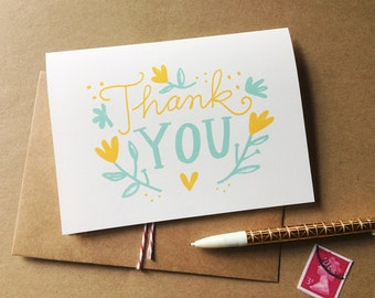 Thank You Cards -Set of 10