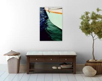 nautical decor // beach canvas art // nautical boat photography on large canvas - Hull, art on canvas