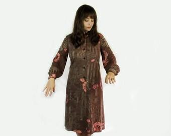 Vintage Hanae Mori Dress . Size 12 Designer Vintage