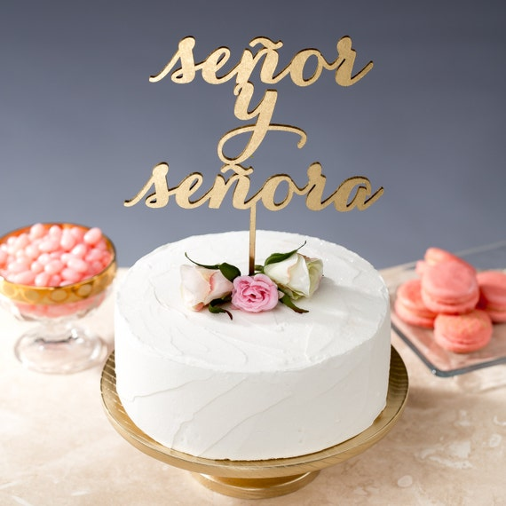 spanish style wedding cake toppers wedding cake topper senor y senora boda 20301