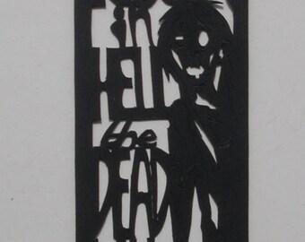 Papercut Bookmark: Dawn of the Dead