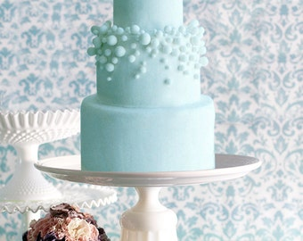 "15"" Cake Stand Inspired by Martha Stewart Weddings"