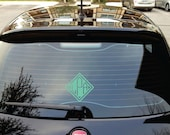 Monogram Car Decal - Small Decal - Monogram Door Decal - Car Stickers Personalized Monograms for your Car - Small Wall Decals