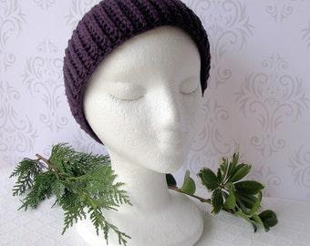 Purple Headband - Ear Warmer