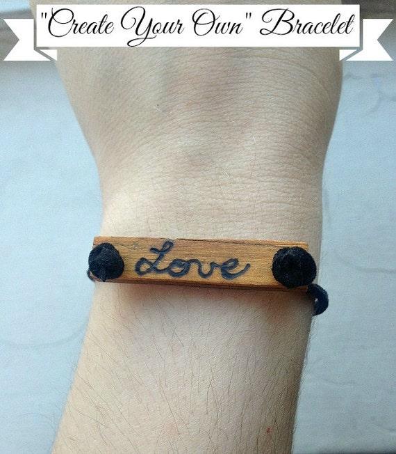 Items Similar To Create Your Own Custom Bracelet On Etsy
