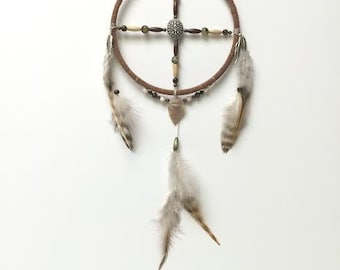 Dream Catcher - Medicine Wheel, Arrowhead,  Dreamcatcher