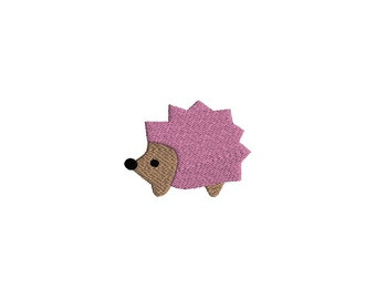 Mini Hedgehog Machine Embroidery Design-INSTANT DOWNLOAD