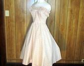 GORGEOUS Floral Ruffled GUNNE SAX Tea Dress