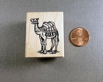 Camel Rubber Stamp
