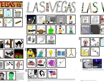 Las Vegas Halloween Run (3 nights) Phish Illustrated Setlists