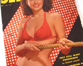 See Magazine 1950 Pin-Up Oversized Pulp