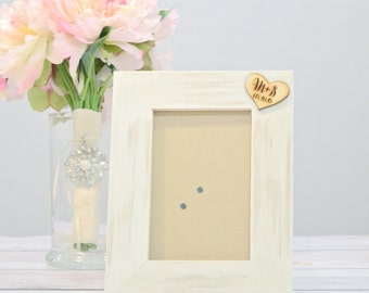 Personalized picture frame - wedding frames- customized your colors!