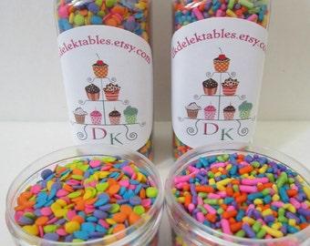 Neon Bright Mini ~ Cupcake ~ Cake Pop ~ Marshmallow ~ Krispy Bar ~ Sprinkle Kit ~ Jimmie ~ Quins