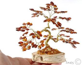 Baltic Amber Bonsai Tree