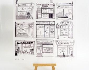 Mill Road print