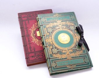 Photo Guestbook, Wedding Scrapbook Album, Honeymoon Keepsake, Anniversary Journal, Personalized Wedding Book, Rebound Vintage Book