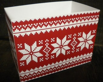 Poinsettia Star Gift Box, Christmas Boxes, Theme Gift Boxes
