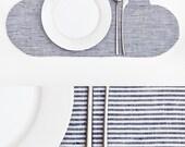 Placemat, Cloud Linen Placemat, kitchen decor