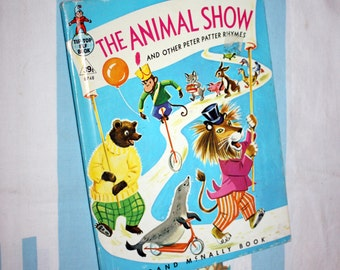 The Animal Show and other Peter Patter Rhymes, 1965 Elf Book