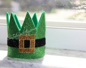 Leprechaun Hat Crown // Leprechaun Crown // St. Patricks Day Crown // Ready to Ship // by Born TuTu Rock
