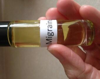 Migraine Essential Oil Therapeutic Blend 10ml