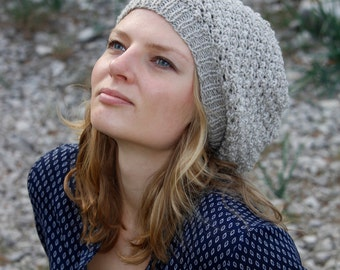 grey slouchy hat, slouch hat, winter slouchy green hat, slouch beret, slouchy beret