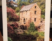"""Print """"The Old Mill"""" (North Little Rock, AR) : an 5"""" x 7"""" print on ultra thick matte board."""
