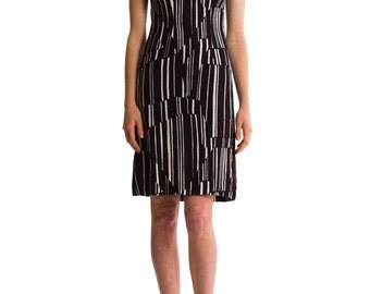 1960s Vintage Linen Mod Mini-Dress  Size: XS
