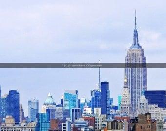 "New York ""New York Skyline"" Fine Art Photograph"
