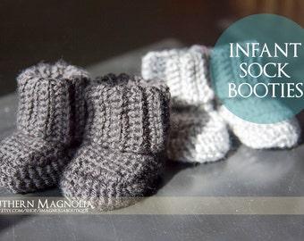 Infant Sock Booties