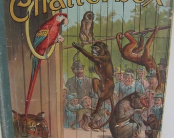 Chatterbox Menagerie of Animals***  by L Francis***  1892