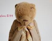 SALE Teddy Bear Vasily Stuffed Animal - Soft Toys Stuffed Bear - Artist Teddy Bears