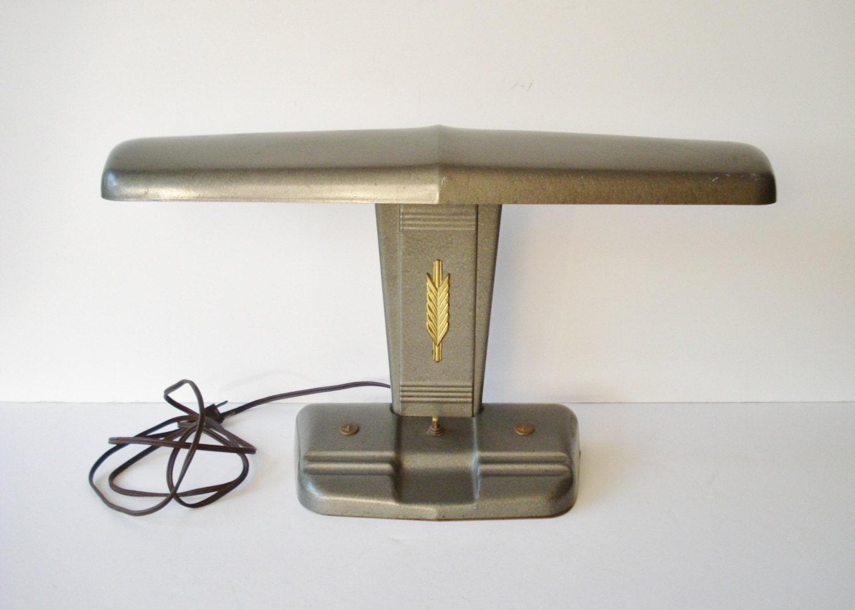 Vintage Midcentury MOE Light Desk Lamp Industrial Task Lamp