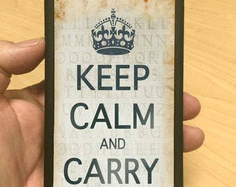 iPhone Case Keep Calm and Carry On