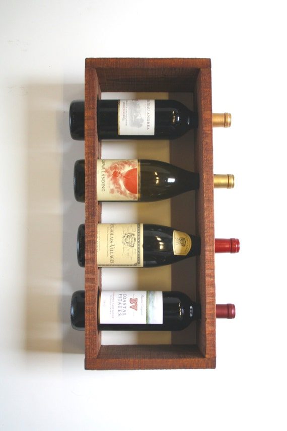 Wine Rack Stand Up Or Wall Hanging Unique Wedding Gift