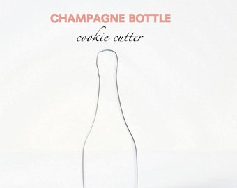 Bottle/Champagne Wine Cookie Cutter