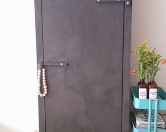 Industrial wooden cupboard - custom made