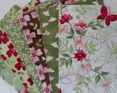 Sweet Caroline 6 pc Fat quarters, Clothworks, Fabric