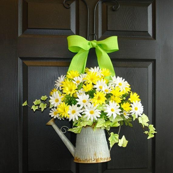 Front Door Decorations For Summer: Summer Wreath Gift Ideas Front Door Decorations By Aniamelisa