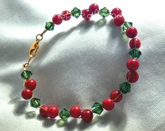 Christmas Berries Bracelet