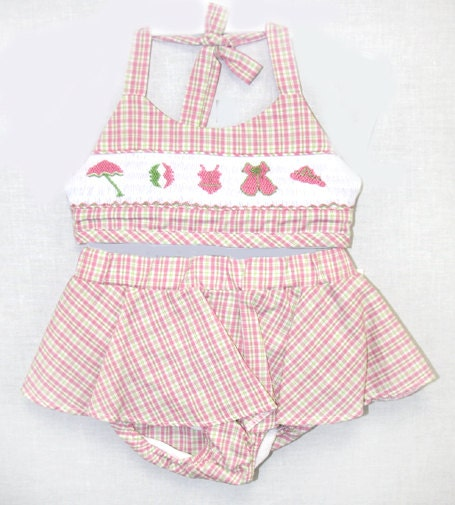 412288 i137 swim suit swimsuit baby girl clothes