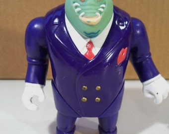 Biker Mice from Mars Lawrence Limburger Action Figure, Vintage Action Figure, 1993, Galoob