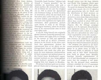 PLAYBOY, JESSE JACKSON Interview, November 1969