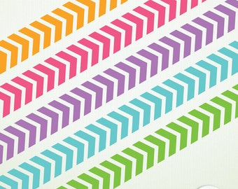 46 Chevron Borders - Clip Art ClipArt Scrapbooking Personal Commercial Instant Digital & Printable G7046